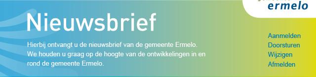 Nieuwsbrief - Gemeente Ermelo